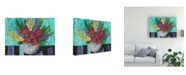 "Trademark Global Regina Moore Early Summer Blooms II Canvas Art - 15.5"" x 21"""