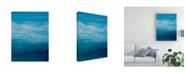 "Trademark Global Teodora Guererra Opal Sky I Canvas Art - 15.5"" x 21"""