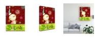 "Trademark Global Viv Eisner Bright Believe II Canvas Art - 15.5"" x 21"""