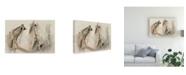 "Trademark Global PH Burchett Cow Pony Canvas Art - 27"" x 33.5"""