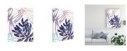 "Trademark Global June Erica Vess Miami Floral II Canvas Art - 27"" x 33.5"""
