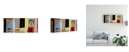 "Trademark Global Michel Keck Take it All in Stride Canvas Art - 36.5"" x 48"""