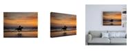 "Trademark Global PH Burchett Sunkissed Horses IV Canvas Art - 15.5"" x 21"""