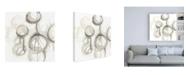 "Trademark Global June Erica Vess Neutral Lanterns III Canvas Art - 15.5"" x 21"""