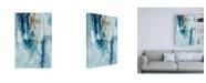 """Trademark Global Joyce Combs Peaceful Calm III Canvas Art - 27"""" x 33.5"""""""