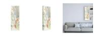 "Trademark Global Jennifer Goldberger Obscured Flowers II Canvas Art - 15.5"" x 21"""