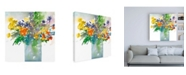 """Trademark Global Samuel Dixon Garden Elements II Canvas Art - 19.5"""" x 26"""""""