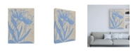 "Trademark Global Chariklia Zarris Dusk Botanical VI Canvas Art - 27"" x 33.5"""