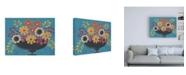"Trademark Global Regina Moore Flowers Galore II Canvas Art - 27"" x 33.5"""