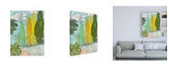 "Trademark Global Rob Delamater Tuscan Plein Air II Canvas Art - 36.5"" x 48"""