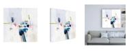 "Trademark Global Victoria Borges Boardwalk Taffy IV Canvas Art - 15.5"" x 21"""