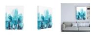 "Trademark Global June Erica Vess Abstract Coral II Canvas Art - 27"" x 33.5"""