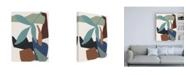 "Trademark Global Melissa Wang Mod Collage I Canvas Art - 27"" x 33.5"""