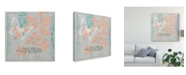 """Trademark Global Jennifer Goldberger Gray Garden I Canvas Art - 20"""" x 25"""""""