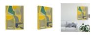 "Trademark Global Rob Delamater Equinox Blue Canvas Art - 20"" x 25"""