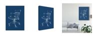 """Trademark Global Ethan Harper Office Chair Blueprint II Canvas Art - 37"""" x 49"""""""