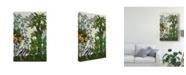 "Trademark Global Naomi Mccavitt Paradis Chinoiserie II Canvas Art - 37"" x 49"""