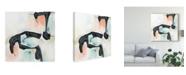 """Trademark Global June Erica Vess Pastel Horizon II Canvas Art - 27"""" x 33"""""""