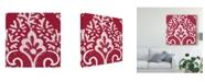 "Trademark Global Wild Apple Portfolio Boho Bright V Canvas Art - 15"" x 20"""