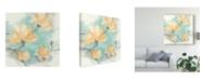 """Trademark Global Chris Paschke Teal Buds IV Canvas Art - 15"""" x 20"""""""