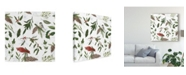 "Trademark Global Sara Zieve Miller Peace and Joy Pattern VIII Canvas Art - 27"" x 33"""