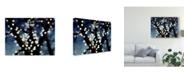 "Trademark Global Sonja Quintero Bokeh Blue I Canvas Art - 20"" x 25"""