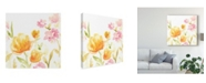 "Trademark Global June Erica Vess Floral Song I Canvas Art - 15"" x 20"""