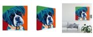 "Trademark Global Carolee Vitaletti Cute Pups I Canvas Art - 27"" x 33"""