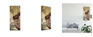 "Trademark Global Catherine Kohnke Earth Tone Floral Panel IV Canvas Art - 15"" x 20"""