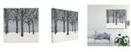 "Trademark Global Samuel Dixon Forest Sketch I Canvas Art - 27"" x 33"""