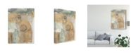 "Trademark Global Jennifer Goldberger Posy Collage I Canvas Art - 20"" x 25"""