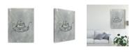 "Trademark Global Naomi Mccavitt English Silver III Canvas Art - 20"" x 25"""