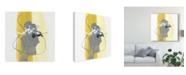 "Trademark Global June Erica Vess Catch Phrase III Canvas Art - 27"" x 33"""