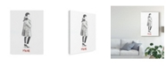 "Trademark Global Naomi Mccavitt Fashion Week Sketch II Canvas Art - 20"" x 25"""
