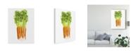 "Trademark Global Naomi Mccavitt Watercolor Veggie III Canvas Art - 15"" x 20"""