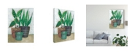 "Trademark Global Chariklia Zarris House Garden I Canvas Art - 20"" x 25"""