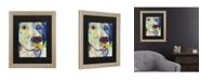 """Trademark Global Pat Saunders-White Yancy Matted Framed Art - 37"""" x 49"""""""