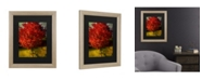 """Trademark Global Philippe Sainte-Laudy Autumn Red Matted Framed Art - 37"""" x 49"""""""