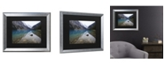 "Trademark Global Pierre Leclerc Lake Louise Matted Framed Art - 27"" x 33"""