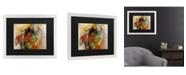 "Trademark Global Masters Fine Art Pier Silhouette Matted Framed Art - 20"" x 25"""