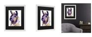 "Trademark Global Pat Saunders-White Fabio Matted Framed Art - 20"" x 25"""