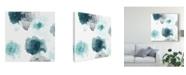 "Trademark Global June Erica Vess Floating Indigo IV Canvas Art - 15"" x 20"""