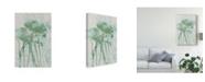 "Trademark Global Jennifer Goldberger Watercolor Flower Panel I Canvas Art - 15"" x 20"""