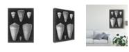 "Trademark Global Vision Studio Alabaster Shells I Canvas Art - 15"" x 20"""