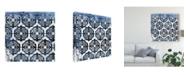 "Trademark Global June Erica Vess Indigo Impression II Canvas Art - 20"" x 25"""