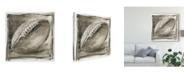 "Trademark Global Ethan Harper Vintage Varsity III Canvas Art - 15"" x 20"""