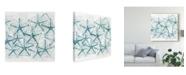 """Trademark Global June Erica Vess Sea Life Batik V Canvas Art - 15"""" x 20"""""""