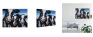 "Trademark Global Patrick Lamontagne Cows Canvas Art - 15"" x 20"""