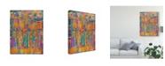 "Trademark Global Sue Davis A Brand New Day Abstract Modern Canvas Art - 15"" x 20"""