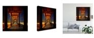 "Trademark Global Philippe Sainte-Laudy San Diego Greetings Canvas Art - 20"" x 25"""